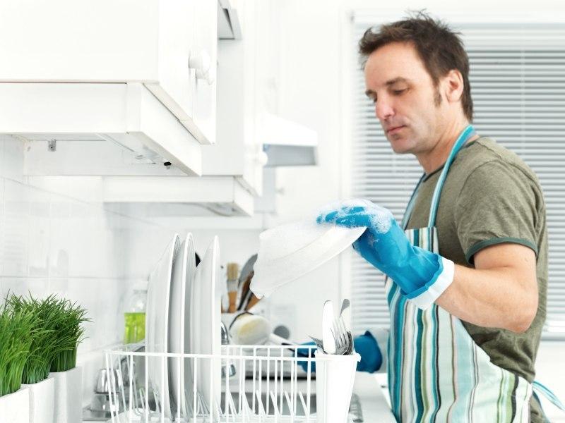 Услуга мытья посуды