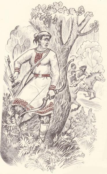 Картинки марийский богатырь онар