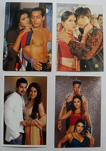 Как делают цифровые открытки с индийскими актерами, новому году слова
